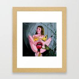Cuisses de Grenouille Remix Framed Art Print