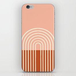 Terracota Pastel iPhone Skin