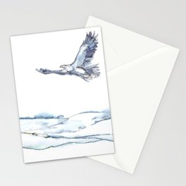 Flying Eagle, Hudson Valley (high) Stationery Cards