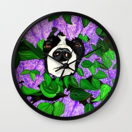 """Must Love Dogs"" Wall Clock"