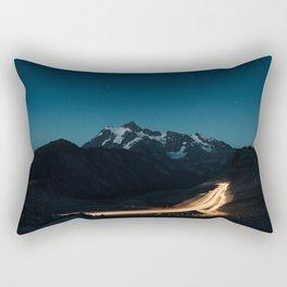 mountain drive Rectangular Pillow