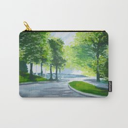Chapel View, Wellesley College Carry-All Pouch