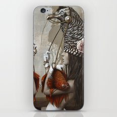 Les Cavalières Blanches iPhone & iPod Skin