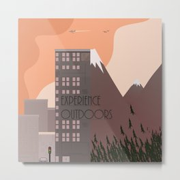 Experience Outdoors Metal Print