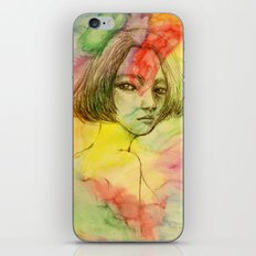 Rainbow romance iPhone & iPod Skin