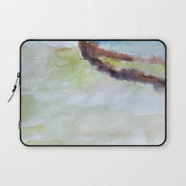 Miami Beach Watercolor #3 Laptop Sleeve