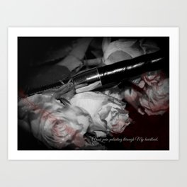 Cutting Edge Erotica, II Art Print
