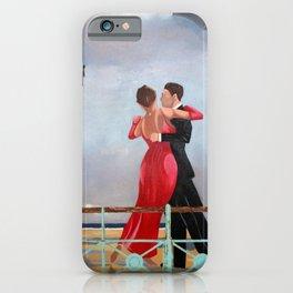 The Singing Butler in Brighton iPhone Case
