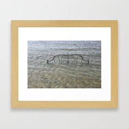 The Invisible World Framed Art Print