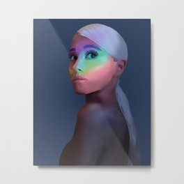no tears left to cry Metal Print