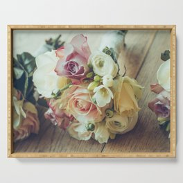 Bridal Bouquets Serving Tray