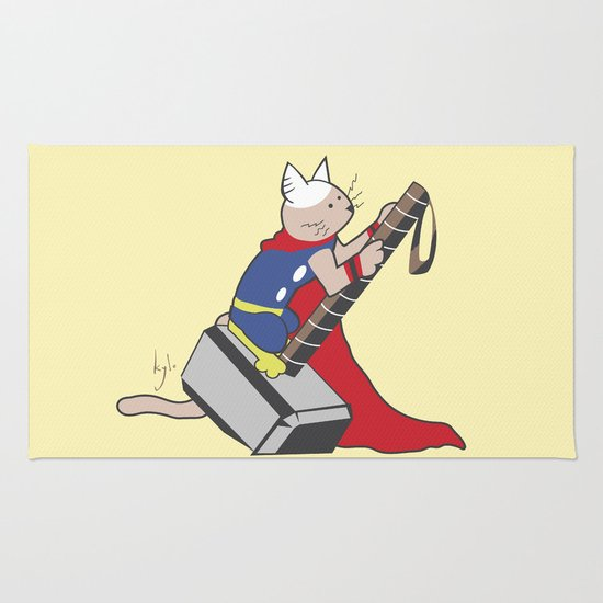 The Catty Thor Rug