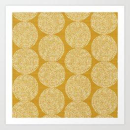 Beech in Gold Art Print