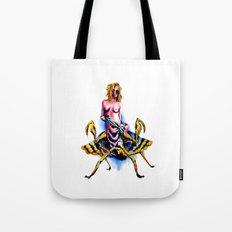 Mantis water color Tote Bag