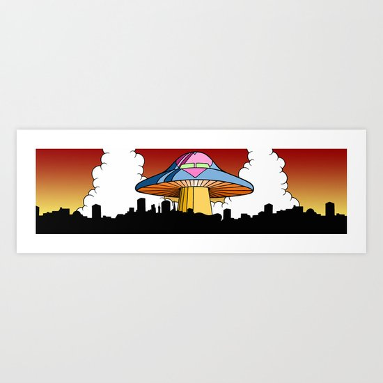 Love Fungus Art Print