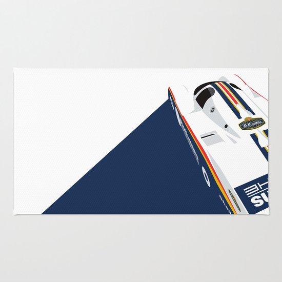 Porsche 962C, 1985 Rug