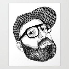 FULL MANO Art Print