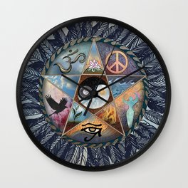 All Tribes Heed the Call Wall Clock