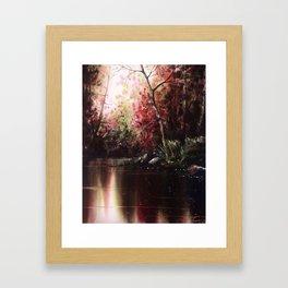 Inner Reflection Framed Art Print