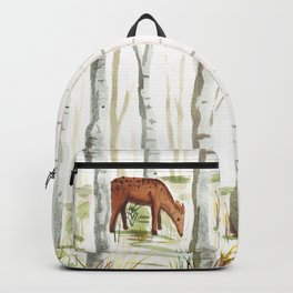 Doe in Aspen Grove Backpack