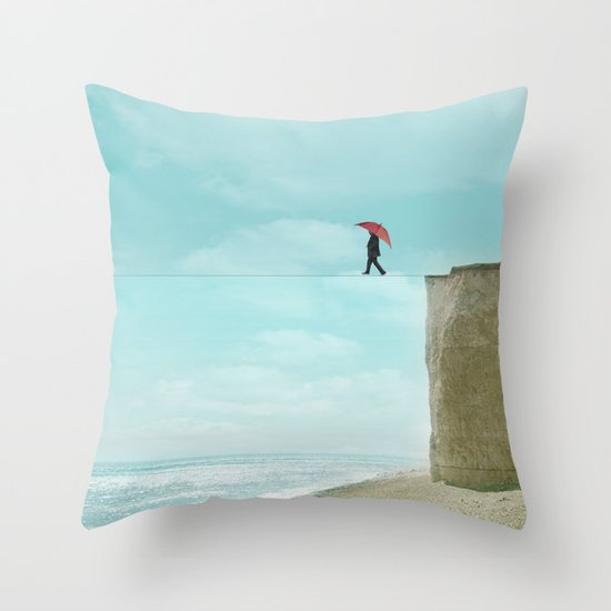 fine line Throw Pillow