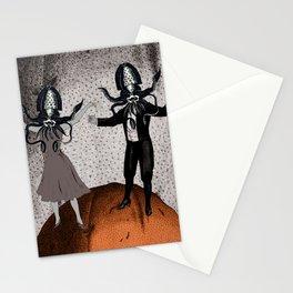 Orange Alien Nation Stationery Cards