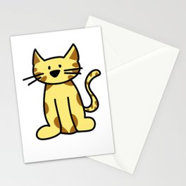 kitten two Stationery Cards