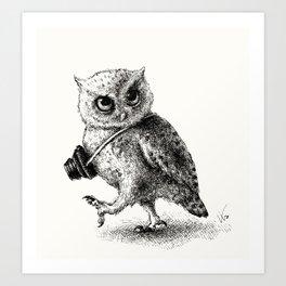 PHOTOGRAPHER Art Print