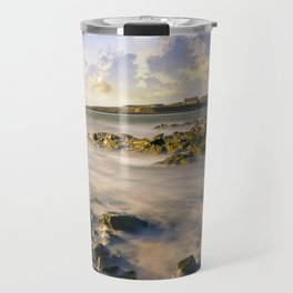 St Cwyfans Church Travel Mug