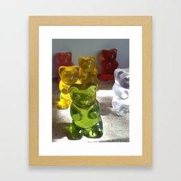 Gummi Bears Framed Art Print
