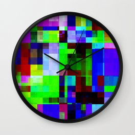 mix your colors -8- Wall Clock