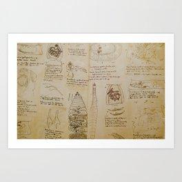 Parasites Art Print