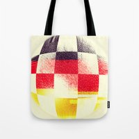 soccer Tote Bags featuring German Soccer by Bunhugger Design