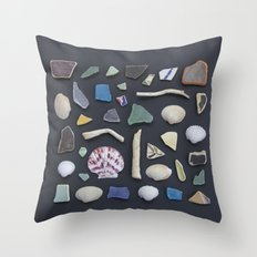 Ocean Study No. 1 Throw Pillow