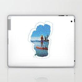 Sunset SUP Laptop & iPad Skin