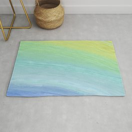 Colored Brush without Gold Foil 01 Rug