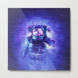 Transmission Error Metal Print