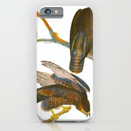 Black Warrior Bird iPhone Case