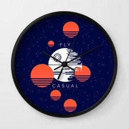 Fly Casual Wall Clock