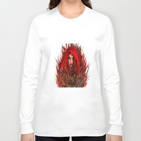 red riding hood Long Sleeve T-shirts featuring  Red Riding Hood by ururuty