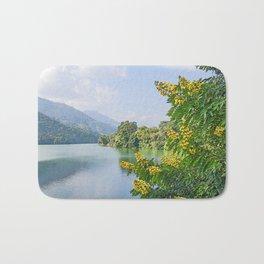 PHEWA LAKE POKHARA NEPAL  Bath Mat