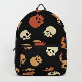 Skull Expression Pattern Backpack
