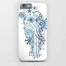 Blow, blow thou winter winds - 12th Night - Shakespeare Quote Art Slim Case iPhone 6s