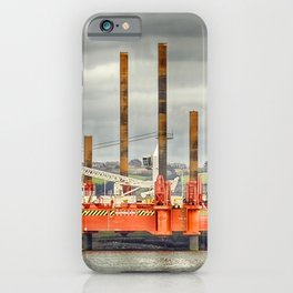 Wavewalker In Falmouth, Cornwall iPhone Case