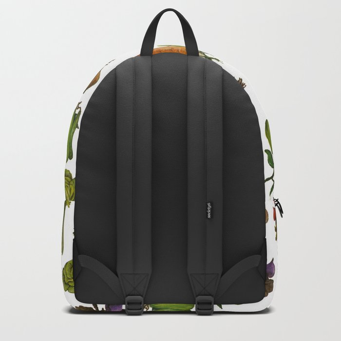 Vegetables Pattern Backpack