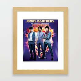 jonas brothers the concert tour 2019 nontongame Framed Art Print