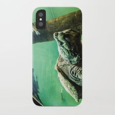 An Alligator Snapping Turtle  Slim Case iPhone X