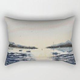 Boats & Sky Rectangular Pillow
