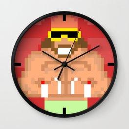 Macho Man Wall Clock