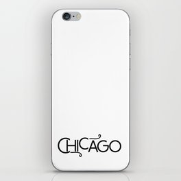 Chicago - Where the Wind Blows - 57 Montgomery Ave iPhone Skin